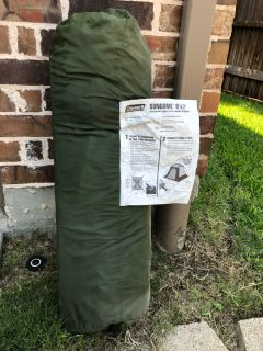 Coleman 2 person tent, used once