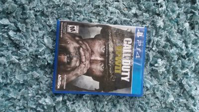 PS4 COD WWII $20