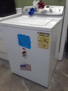 GE Washer w/ No Agitator