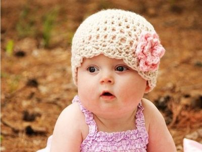 Toddler girls hat , Baby girls beanie, Crochet summer beanie, summer hat, flower hat, beach hat, pink white