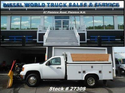 2013 GMC Sierra 3500 Utility-Service + Dump Truck - low miles!