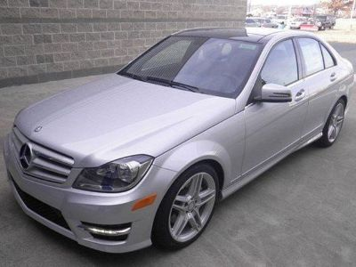 2013 Mercedes-Benz C-Class C300 Luxury 4MATIC (Iridium Silver Metallic)
