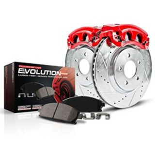 Sell Power Stop KC3150 High Performance Brake Upgrade Kit Cross-Drilled and Slotted R motorcycle in Delaware, Ohio, United States, for US $205.99