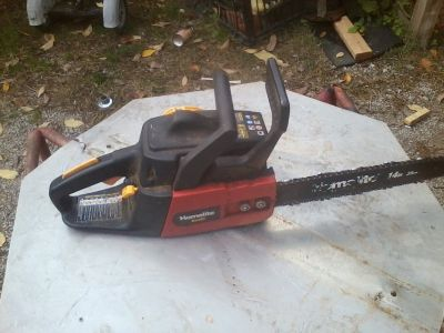 homelite 14in. chainsaw