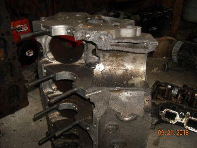 SB Ford aluminum block