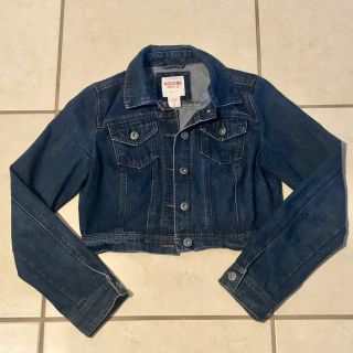 Mossimo Denim Jean Jacket Junior Size Medium EUC