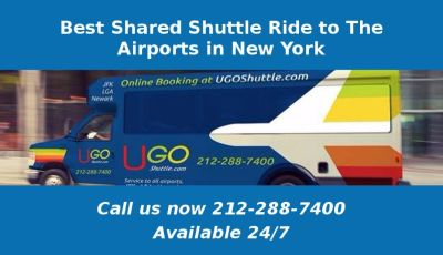 Best Shared Shuttle Ride to The Airports in New York
