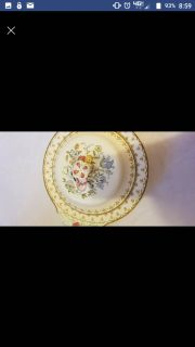 Antique Porcelain Covered Dish