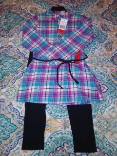 NEW Dollie & Me 2 pc outfit size 6. Pick up by Deer Island store.