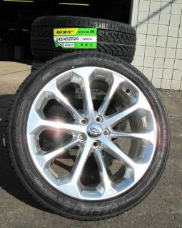 "Find 20"" FACTORY ORIGINAL FORD TAURUS POLISHED USED WHEELS RIMS NEW TIRES SET OF 4 motorcycle in Walled Lake, Michigan, United States, for US $1,599.99"