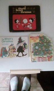 Christmas books collectable charlie brown