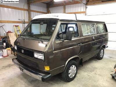 1986 Vanagon GL Westfalia! Runs Great, Very solid!