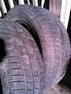 2 truck or utility trailer tires 19665-R15