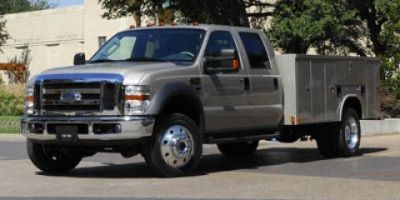 2009 Ford Super Duty F-750 Straight Frame (White)