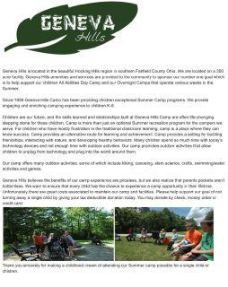 Geneva Hills Camp