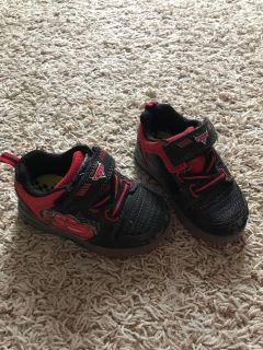 Light up Cars shoes - size 6