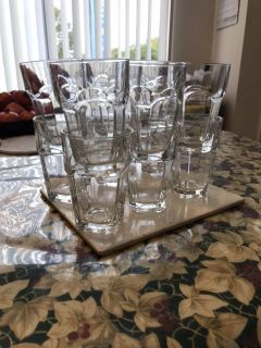 12 Drinking Glasses/ New