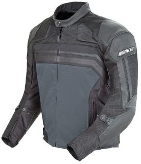 Sell Joe Rocket Reactor 3.0 Street Motorcycle Jacket Black Gun Metal Size X-Large motorcycle in South Houston, Texas, US, for US $215.99