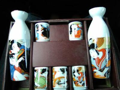 """Shunga sake set """"ventage"""""""