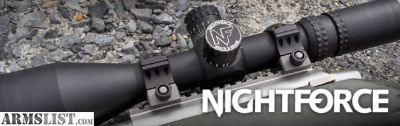 For Sale: Nightforce NX8 C600 1-8x24 F1 MOA Night Force NIB