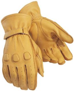 Purchase Tourmaster Deerskin Tan Mens Medium Leather Motorcycle Riding Gloves Md motorcycle in Ashton, Illinois, US, for US $67.49