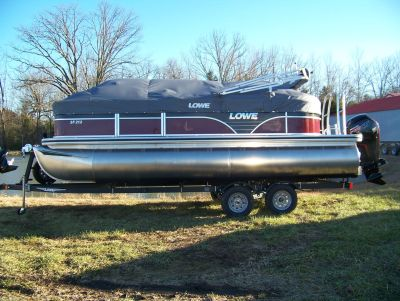 2019 Lowe SF212 WALK THRU TRIPLE LOG W/ MERCURY 115 PRO XS CT & TRAILER Pontoon Boats West Plains, MO