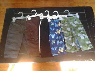 LOT 5: (SIZE 24 MONTHS) 5 PAIRS OF PANTS -- $7