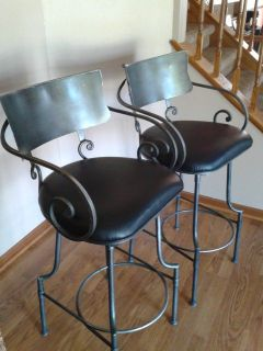 Swivel Bar Stool/Kitchen Island Chairs