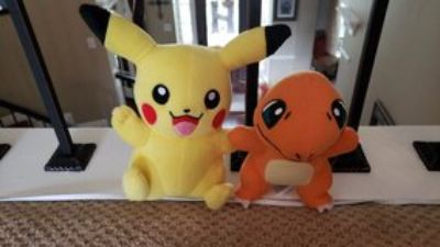 Pokemon stuffed animals