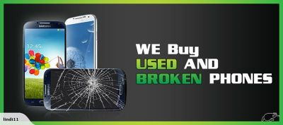 I buy broken phones