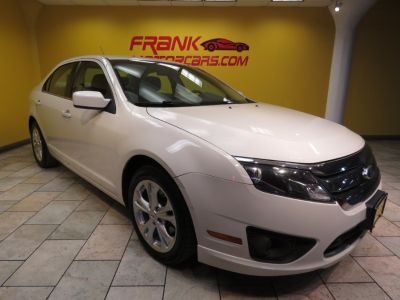 2012 Ford Fusion SE (White Suede)