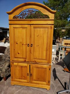 Solid wood armorie
