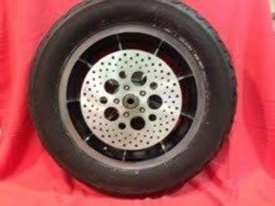 Purchase 1983 FXRT Harley Davidson Rear wheel-rim with rotor and sprocket, Rare motorcycle in Downingtown, Pennsylvania, US, for US $400.00