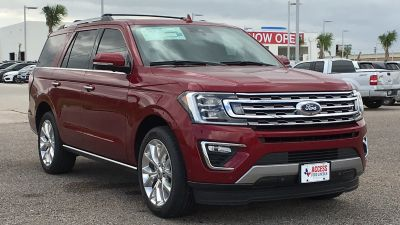 2018 Ford Expedition Limited 4x2 (RUBY RED METALLIC TINTED CLEARCOAT)