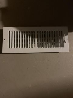 FREE 4 - 4 x 12 white vent covers