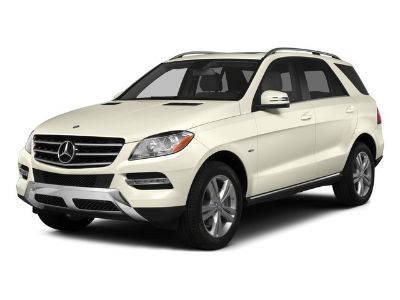 2015 Mercedes-Benz M-Class ML350 (Palladium Silver Metallic)