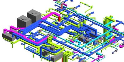 HVAC 2D CAD Drafting - Silicon Consultant LLC