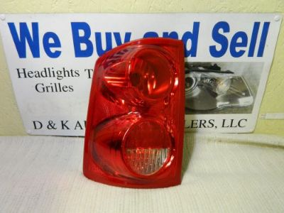 Buy DODGE DAKOTA 2005-2010 LEFT/DRIVER SIDE OEM TAIL LIGHT PART # 55077605AD motorcycle in Rockford, Michigan, United States, for US $34.55