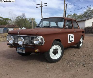 1969 NSU 1200 on VW pan