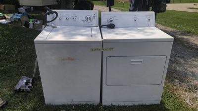 kenmore washer and dryer set 80 series