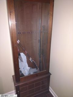 For Sale/Trade: Wood gun cabinet