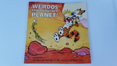 Vintage 1990 Calvin and Hobbs Weirdos From Another Planet Soft Cover Comics Classic Childrens Fu...