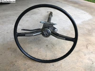 1965 ONLY Type 1 and Type 3 Steering Wheel