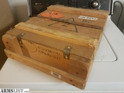 For Sale: 880 round (2x 440rd spam cans) crate of Soviet Russian 7.62x54r