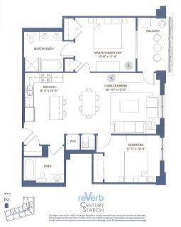 2 bedroom in Berwyn