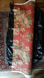 25 yards roll of upholstery fabric