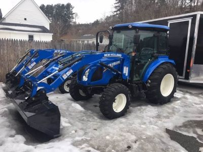 2018 New Holland Agriculture BOOMER 55 Tractors Littleton, NH
