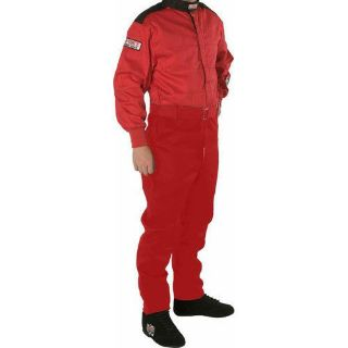 Find G-FORCE 4145MEDRD GF145 Single Layer Driving Suit SFI 3.2A/1 Red motorcycle in Delaware, Ohio, United States, for US $109.99