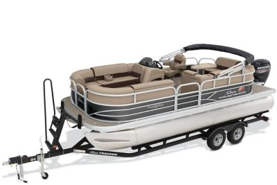 2018 Sun Tracker Party Barge 20 DLX Pontoon Boats Boats Gaylord, MI