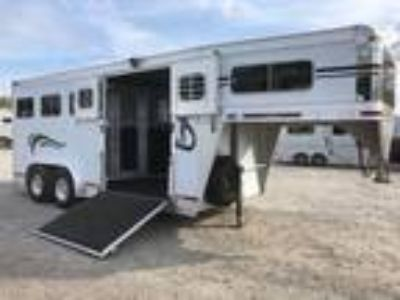 2004 Eby 2 HORSE & CARRIAGE TRAILER 2 horses